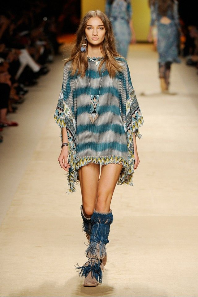 The '70s Are Alive and Well at Etro S/S 15 via @WhoWhatWear