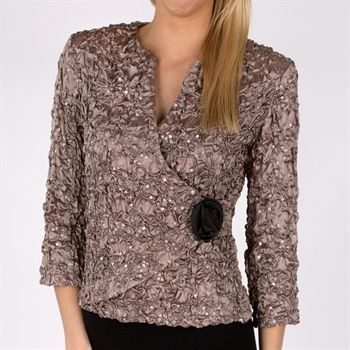 Von Maur - my favorite!  Replace the black button with ivory and wear an ivory or mushroom-colored skirt.  LOVE!