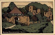 Steindruck Ak Herbede Witten im Ennepe Ruhr Kreis, Ruine Hardenstein - 1491241