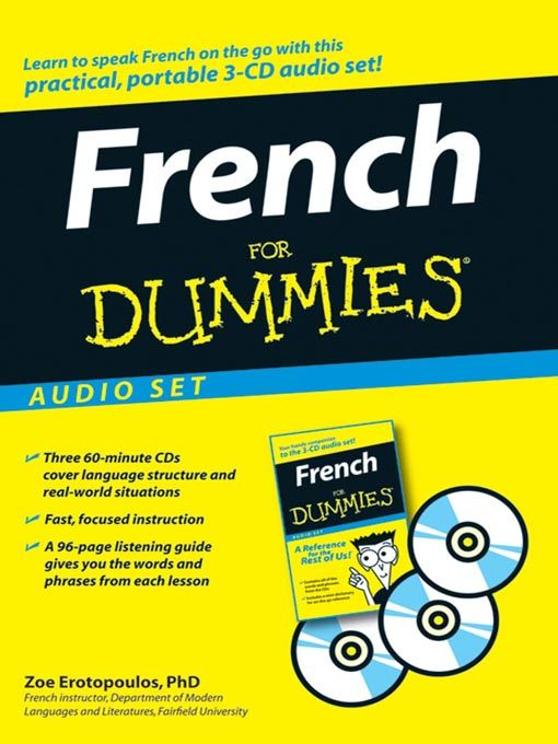 French For Dummies. This may help me in French.