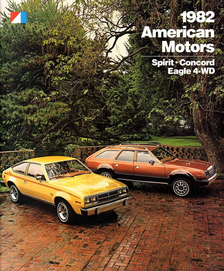 Retrotisements -- 1982 American Motors Corporation (AMC) New Car Lineup
