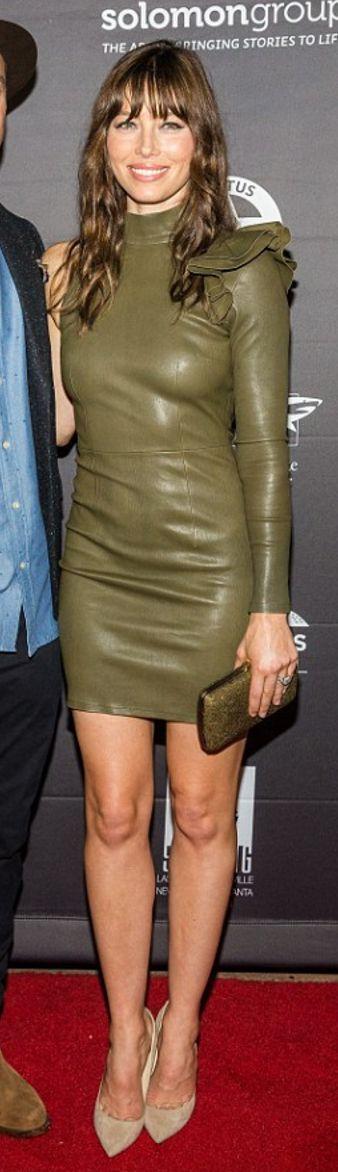 Jessica Biel wearing Eyn