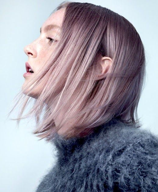 Majorly crushing on this soft and subtle lavender hair color.