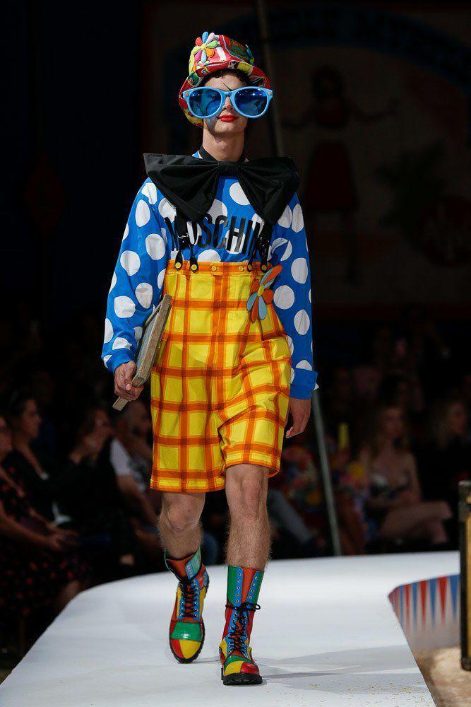 Il circo di Moschino per la primavera estate 2019   Fashion Man