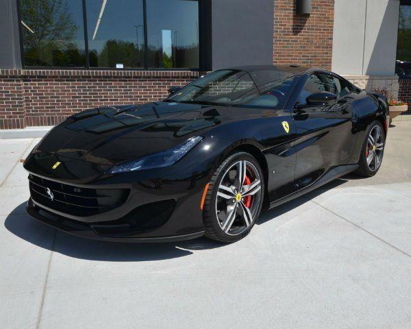 2020 Ferrari Portofino Black Ferrari Ferrari Car Ferrari Convertible