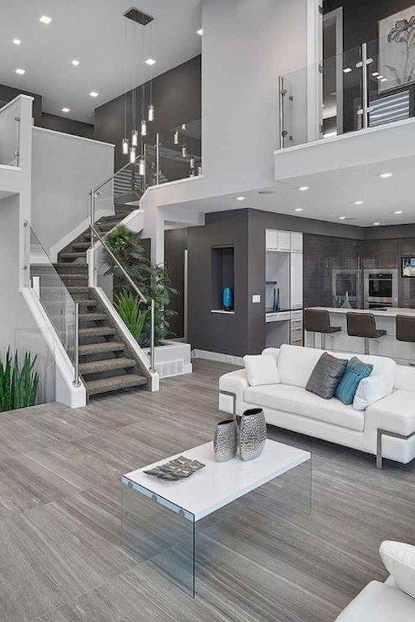 design e funzionalità, creando nuove tendenze nell'architettura degli interni. 20 Contemporary Living Room Ideas Decorations 5 Modern House Design House Interior Dream Home Design