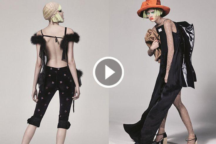 詭譎的奇幻意象:John Galliano 為 Maison Margiela 設計的服飾系列短片!