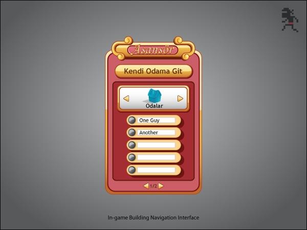 Interface Designs by Go Ninja Studio , via Behance