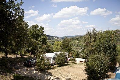 Ruime kampeerplaatsen