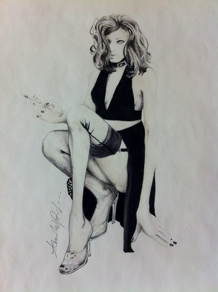 Alessandra Biagioli Fashion Designer Illustration