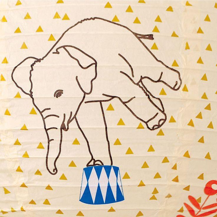 Circus Elephant Tattoo Meg Cream Circus Elephant