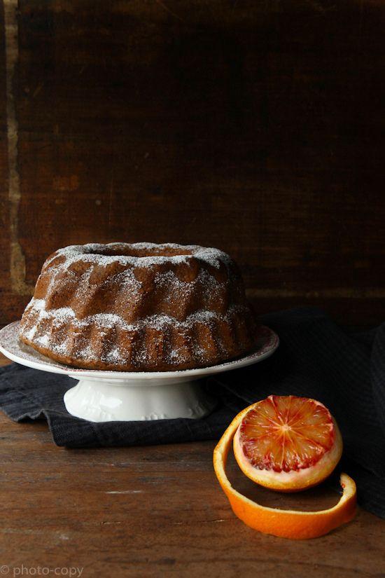 Walnotencake met bloedappelsien en olijfolie - Photo-copy