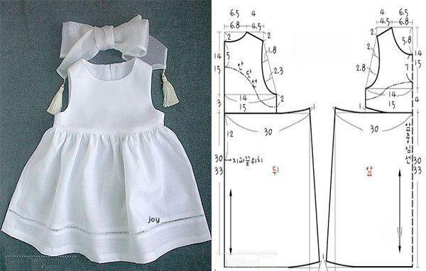 Molde De Vestido Infantil Para Imprimir Com Passo A Passo Molde