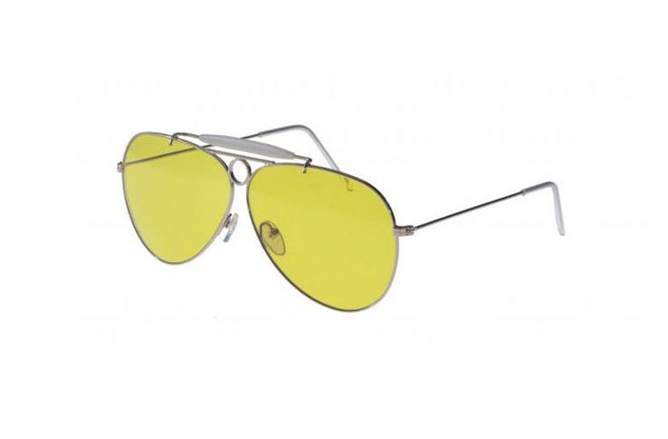 Maxou 3 sunglasses, Yellow-Lens Avaiators Are the Latest Sunglass Trend Up Next
