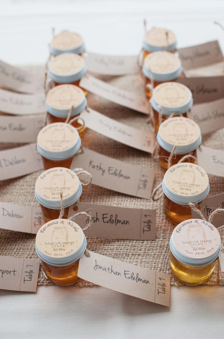 Wedding Favor Honey Tags : Honey Wedding Favors on Pinterest Honey jar favors, Honey favors ...
