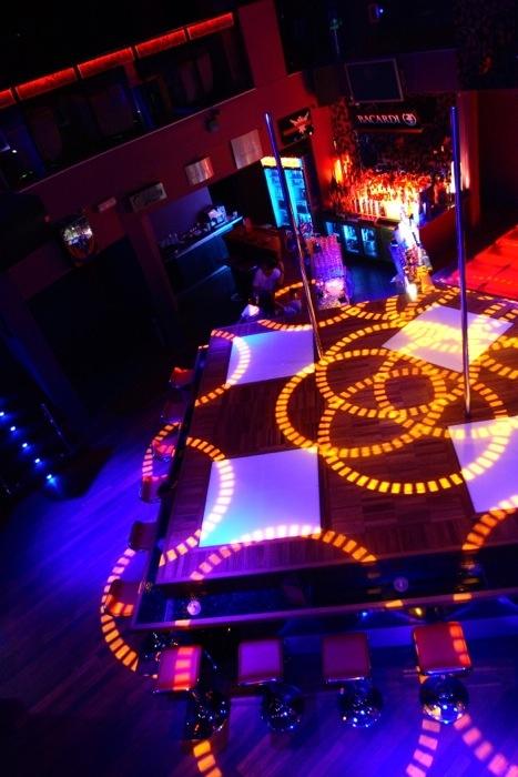 Inside the SOGO Night-Club in Warsaw.