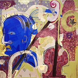 "electroblues Head"" © Ollivier Fouchard par Ollivier Fouchard"