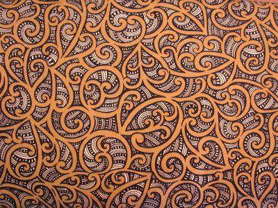 Quilts Maori Design 3 - FQ