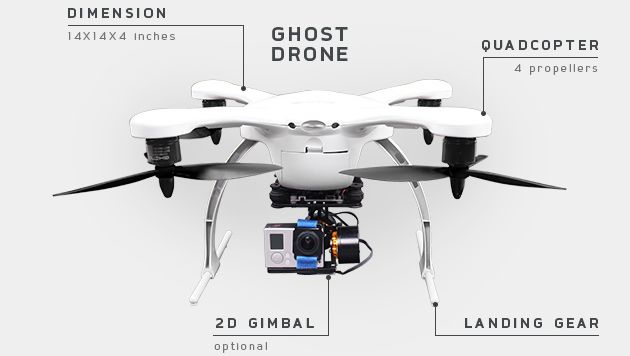 UAV Coach is doing a giveaway for a ready-to-fly GHOST Aerial Drone from Ehang, valued at $799. #drone #aerialdrone #ghostdrone #quadcopter