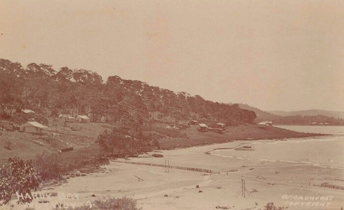 Hardy Bay,Ettalong Beach,Woy Woy,central coast of New South Wales.A♥W.Photo was a post card from Broadhurst Postcard Publishers.A♥W