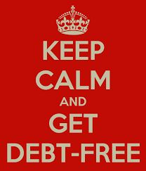 Image result for debt free