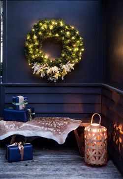 Shining Wreath - click to download our easy how to!    Home Beautiful Magazine Australia