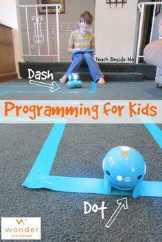 Dash & Dot ~ Teach Kids Programming