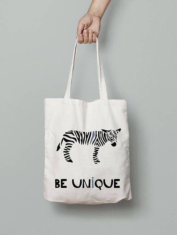 Zebra bag, Eco Friendly Canvas Tote Bag, Wedding Welcome Tote Bags, printed tote bag, beach tote, summer tote bag, Reusable Grocery Bag