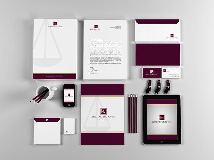 ByOzzy: RONY ADVOCACIA | Manual de Identidade Visual