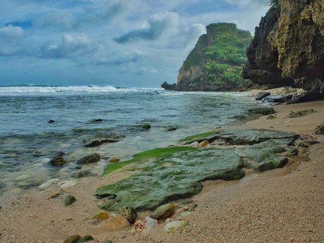 Nguyahan Beach - Hidden beaches in Gunung Kidul, Central Java, Indonesia