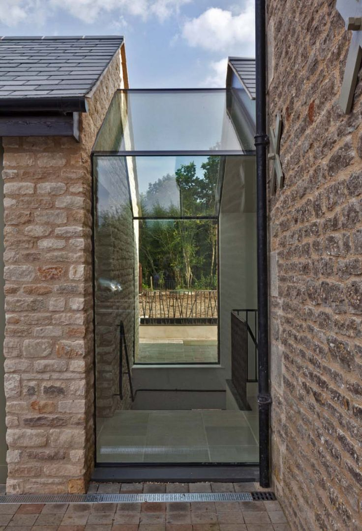 Architecturally striking barn conversion in the Cotswolds