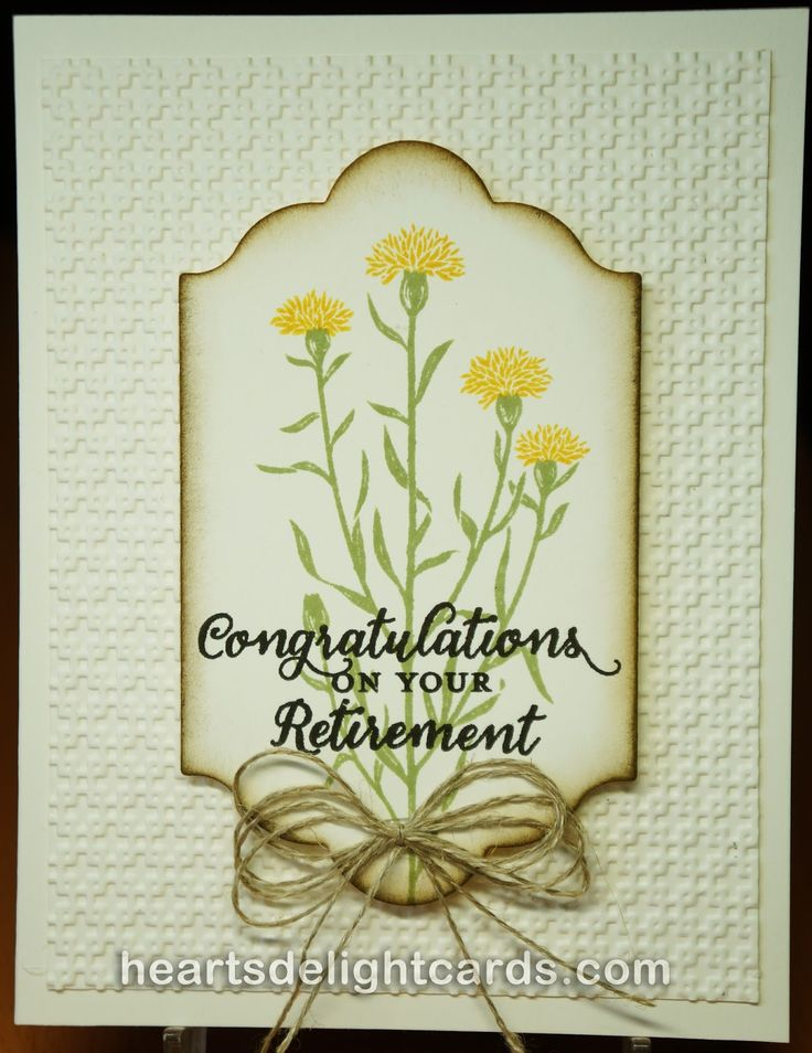 Heart's Delight Cards: Wild About Retirement