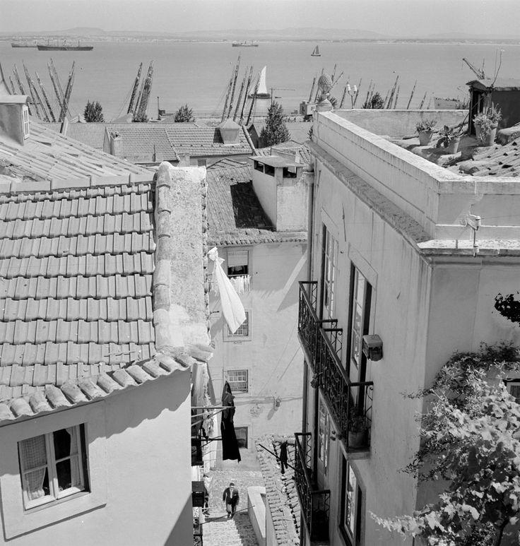 Alfama, 1960-1969, foto de Artur Pastor, in a.f. C