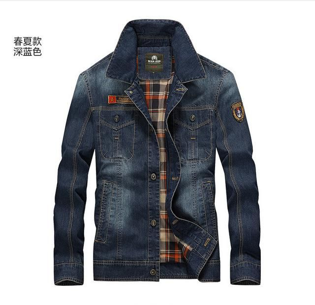 d73a272f23d Winter Retro Denim Jacket Men Fur Collar Thicken Outwear Warm Jeans ...