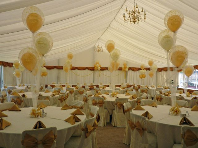1000 ideas about wedding reception balloons on pinterest for Balloon decoration for wedding reception