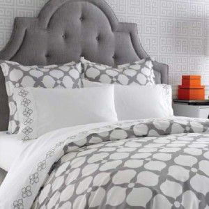Grey Hollywood Duvet cover - totally guest room worthy