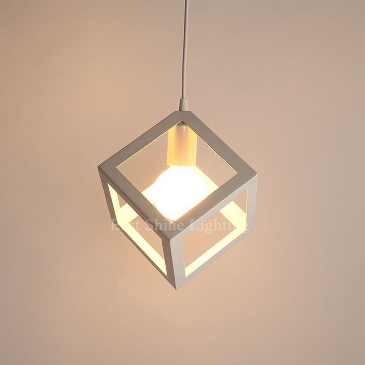 Cheap Cube Pendant Light Buy Quality Drop Lights Directly From China Suppliers Vintage Nordic Industrial Iron