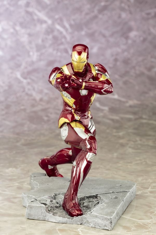 Captain America Civil War: Iron Man Mark 46 ARTFX  [Statue] by Kotobukiya