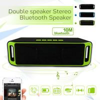 HOT Newest Wireless Bluetooth Portable rechargebale Stereo Speaker TF USB Mic