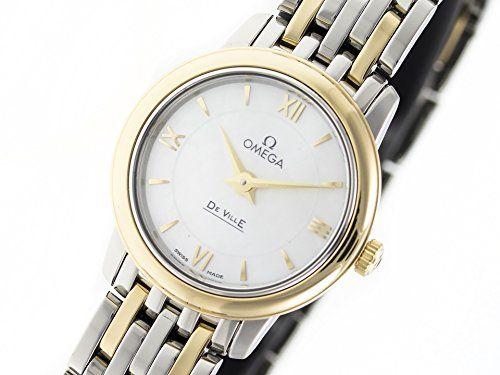 Omega De Ville swiss-quartz womens Watch 424.20.24.60.05.001 (Certified Pre-owned)
