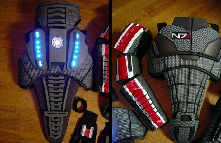 Mass Effect N7 Armor: N7 Armors, Mass Effect, Halloween Costumes, Costumes Overkil, Costume S, Character Costumes, Costumes Ideas