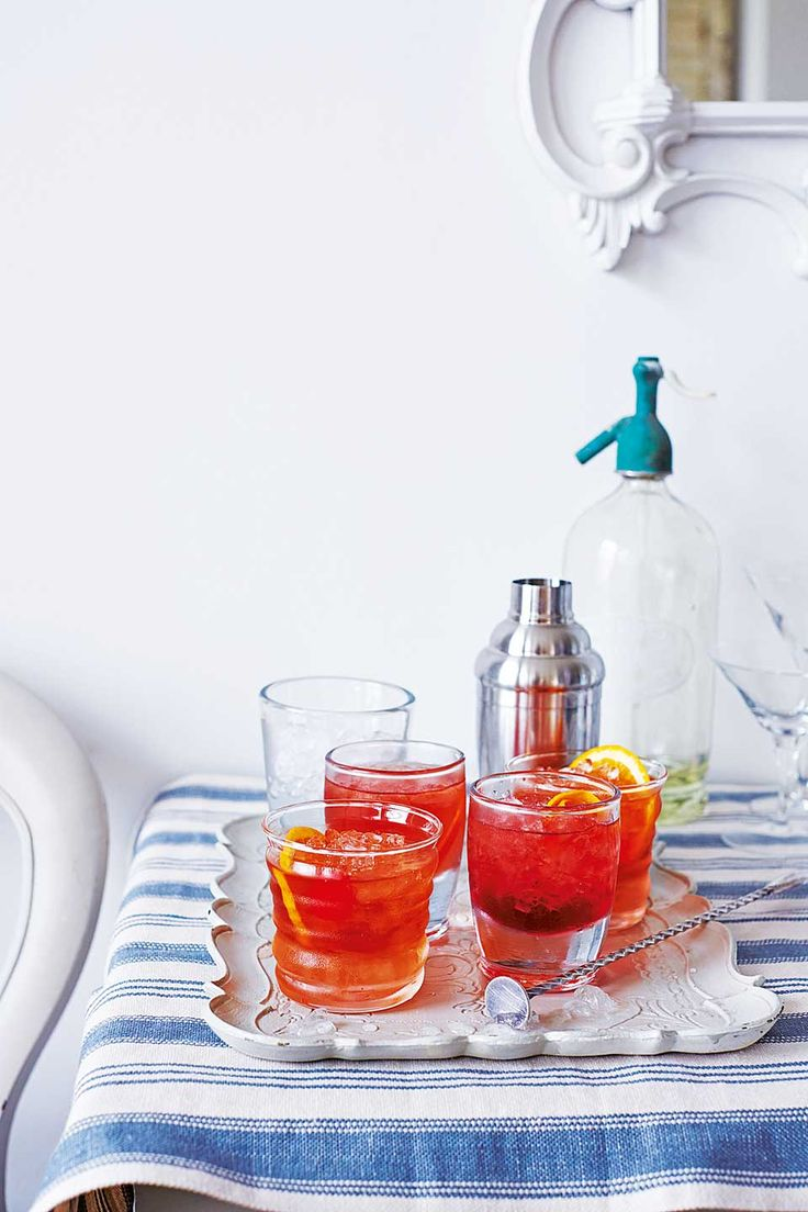 This refreshing cocktail recipe is perfect served on a warm evening, as a pre-dinner drink.