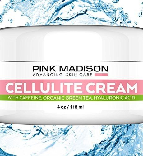 Skin Tightening Cellulite Remover Cream with Caffeine Organic Green Tea  Hyaluronic Acid. Best Cellulite Treatment for Skin Firming and Tightening. Natural Firming Lotion for Legs, Arms, Stomach.