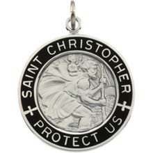 1000 Images About St Christopher Medals On Pinterest