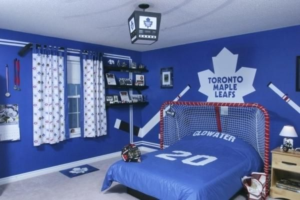 Boys Hockey Bedroom Hockey Room Decor Ideas For Boys