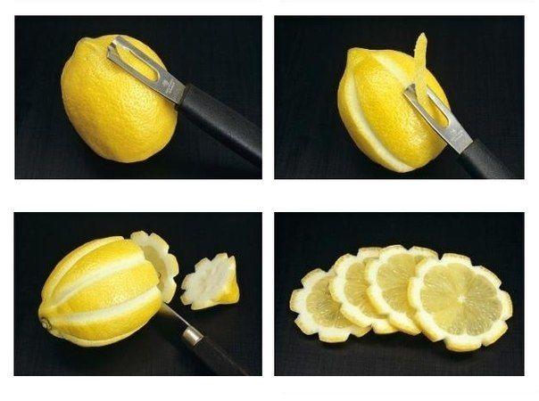 cute lemon flowers. would look cute in tea or water!