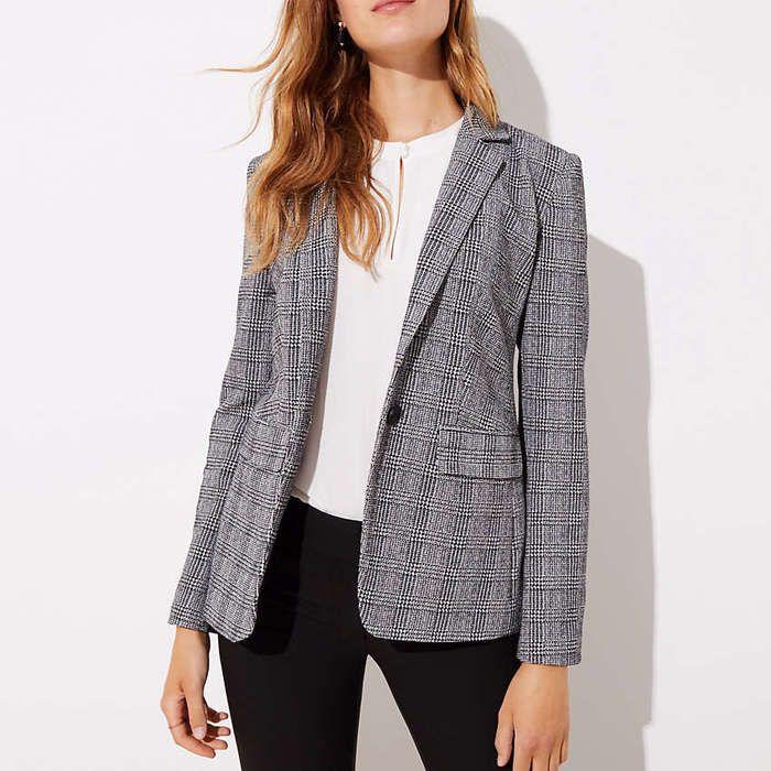 10 Best Plaid Blazers | Knit blazer, Plaid blazer, Blazer