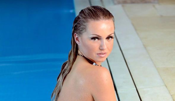 Sizzling Ola Jordan shows off her stunning figure as she goes totally NAKED for super sexy calendar shoot - HD Photos