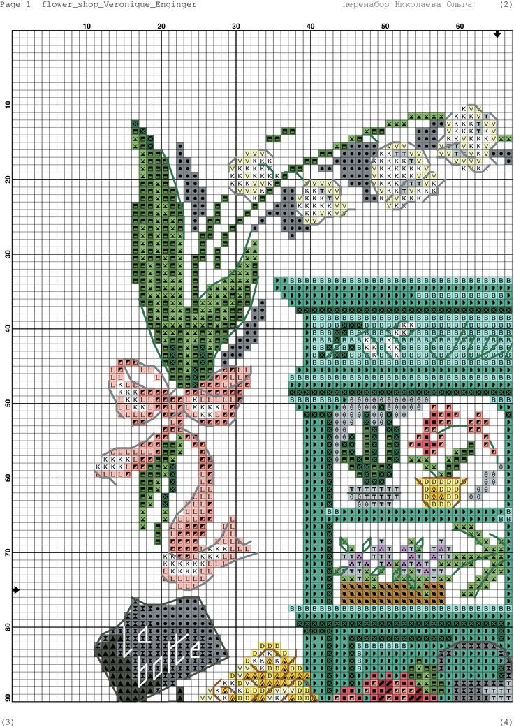 392 Best Cross Stitch Garden Images On Pinterest