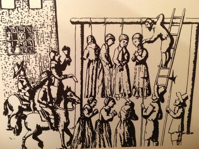 Lancaster castle is strongly linked with the famous pendle witches
